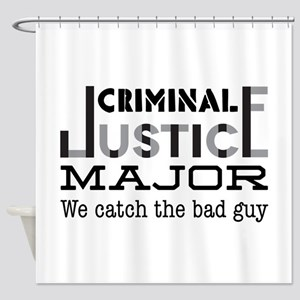 Bad Guy Shower Curtain